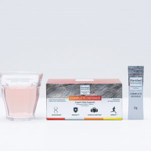 Fortified Immunity Complete Defence, with glass and sachet