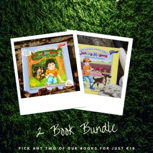 Johnny Magory childrens book 2 book bundle