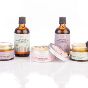 AromaBump Complete Pregnancy Set by AromaBuff designed by Aroma Buff