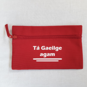As Gaeilge Pencil Case designed by All Tied Up