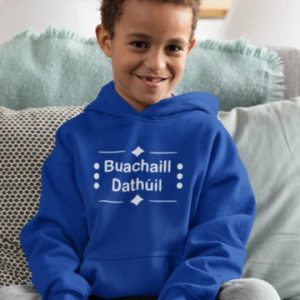 Buachaill Dathúil As Gaeilge Hoody designed by All Tied Up