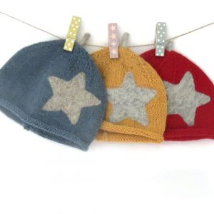 Bubble Hat with Star and Sprout deisgned by Froogle & Co