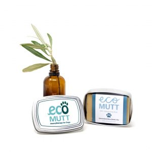 Dog Soap Bar with SOAP TIN in Gift Bag - Unscented designed by Eco Mutt