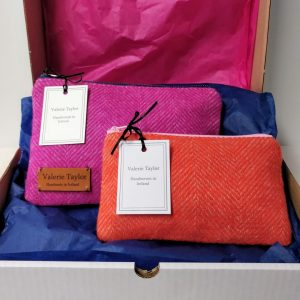 Handwoven Giftbox designed by Valerie Taylor Handwoven in Ireland