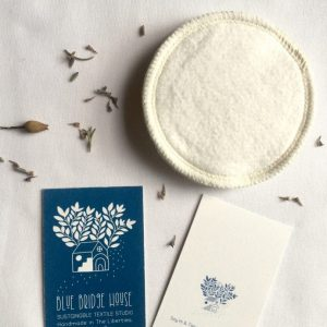 Hemp and Organic Cotton Face Wipes designed by Blue Bridge House
