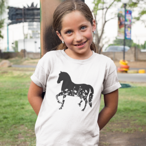 Horse Lover T-Shirt designed by All Tied Up