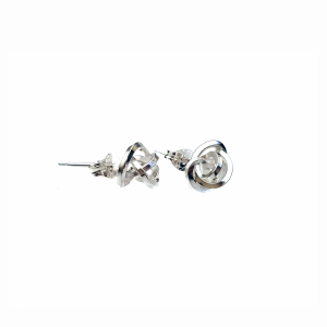 Knot earrings designed by Caroline Stokesberry-Lee Jewellery