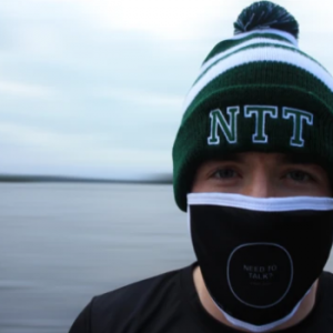 NTT Bobble Hat designed by Need to talk? Clothing