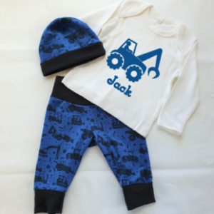 Personalised Boys Construction Set designed by All Tied Up