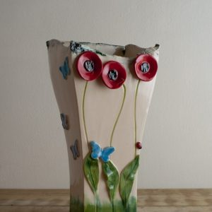 Poppy Vase - Signature Collection designed by Creative Clay