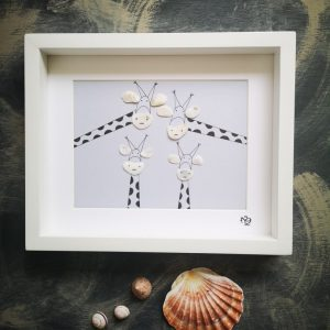 Quirky giraffes designed by Naturally Quirky