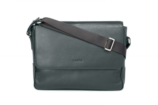 Roble Laptop Satchel designed by LANDA