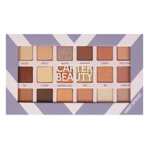 SWEET APRICOT 18-SHADE EYESHADOW PALETTE designed by Carter Beauty