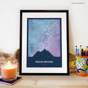 Skellig Michael - Signed Print - Limited edition designed by Diademadisara