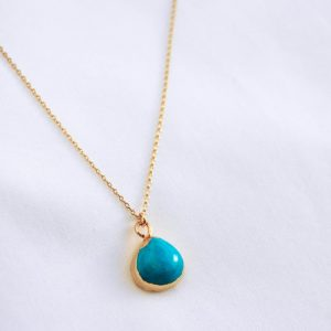 TURQUOISE HOWLITE designed by One Dame Lane
