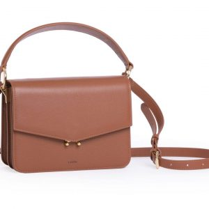 Teca Crossbody bag with handle & strap designed by LANDA