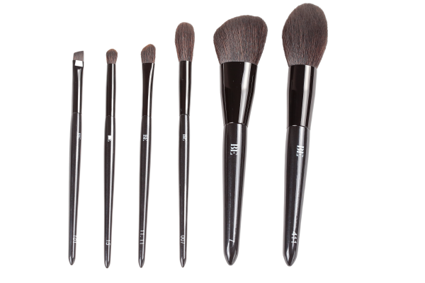 The Essential Six- Make Up Brush Collection designed by Beauti Edit