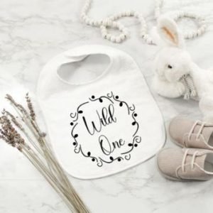Wild One Bib designed by All Tied Up