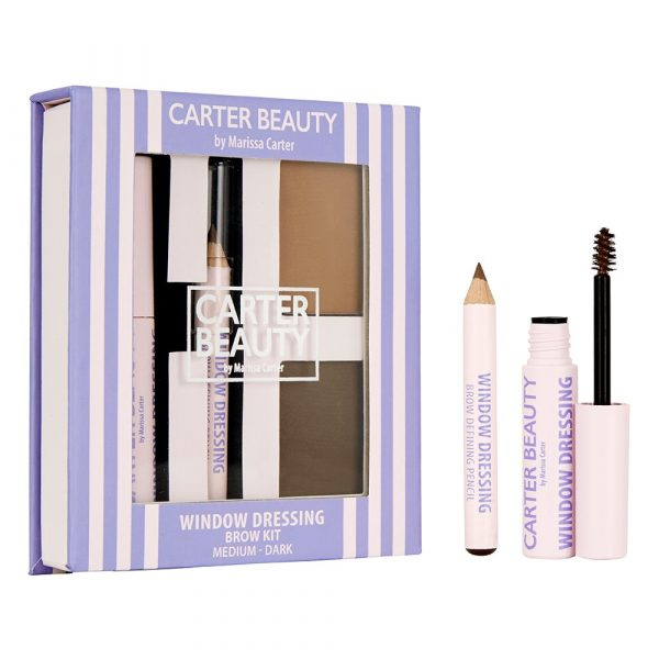 Window Dressing Brow Kit designed by Carter Beauty