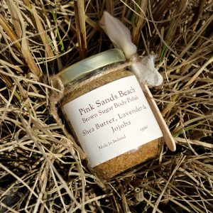 Pink Sands Beach Brown Sugar Body Polish designed by ÍLYS