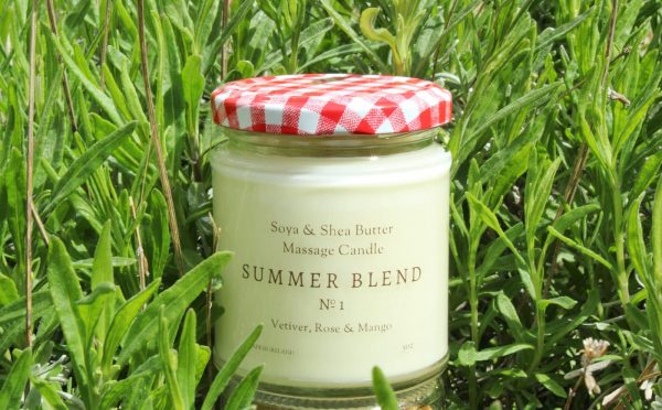 Summer Blend No. 1 Body Oil Massage Candle designed by ÍLYS