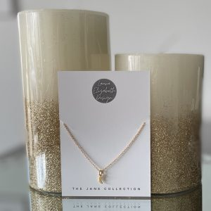 Gold Chain with moon symbol