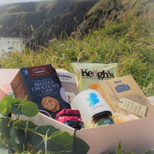 Taste of Home gift box with curated Irish products from Croia Ireland.